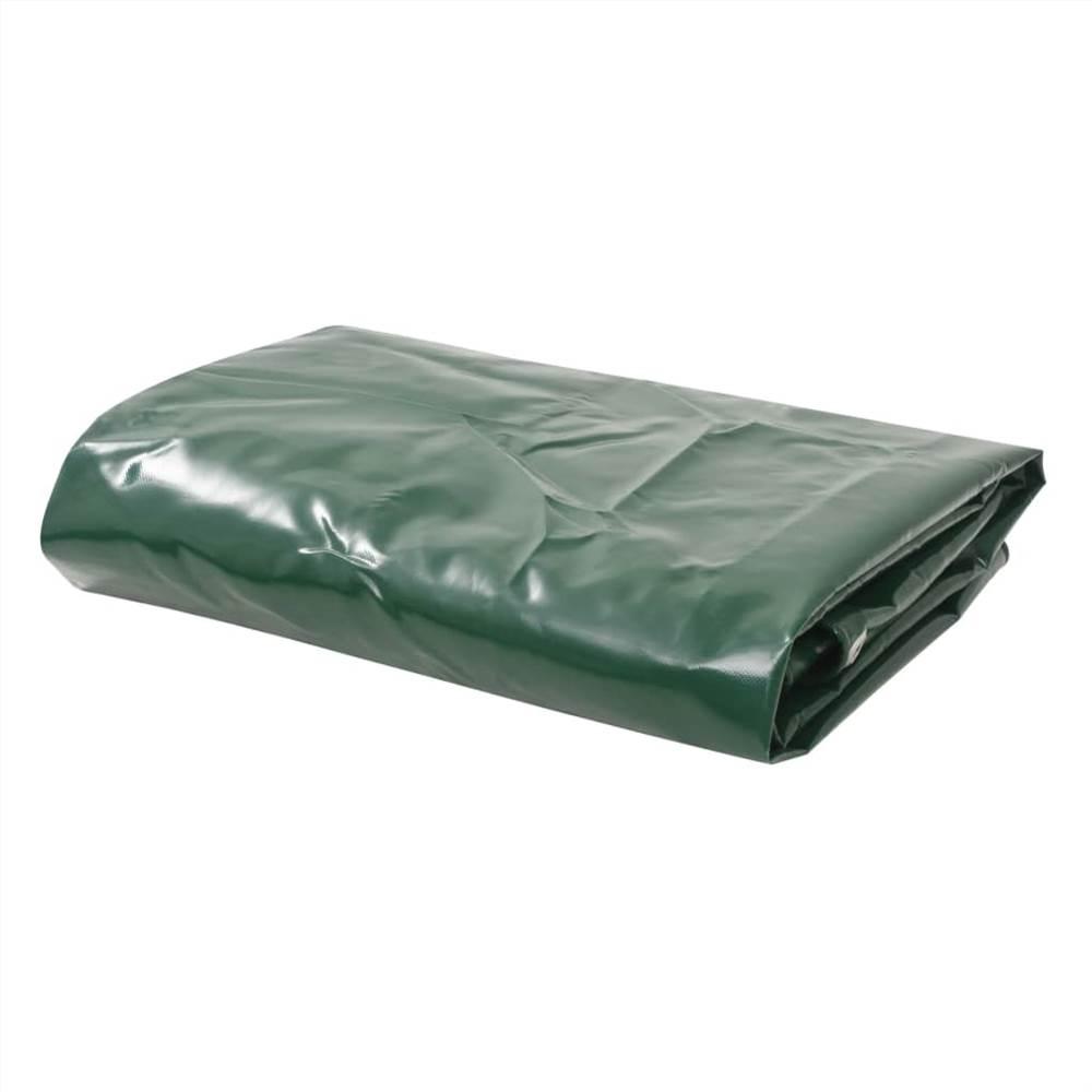 Tarpaulin 650 g/m² 6x8 m Green