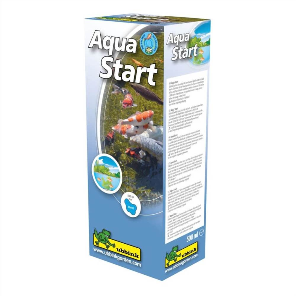 Ubbink Pond Water Stabilisateur de pH Aqua Start 500ml