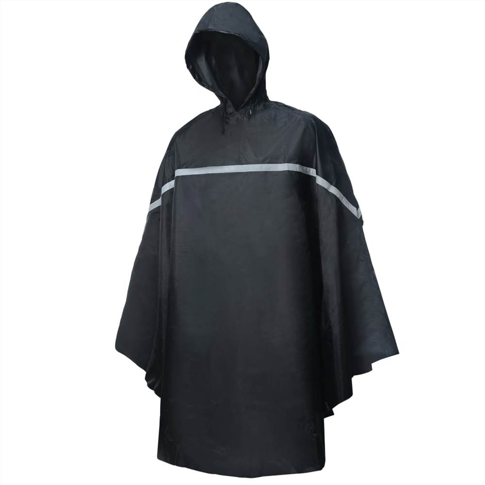 Willex Rain Poncho με κουκούλα One Size Black