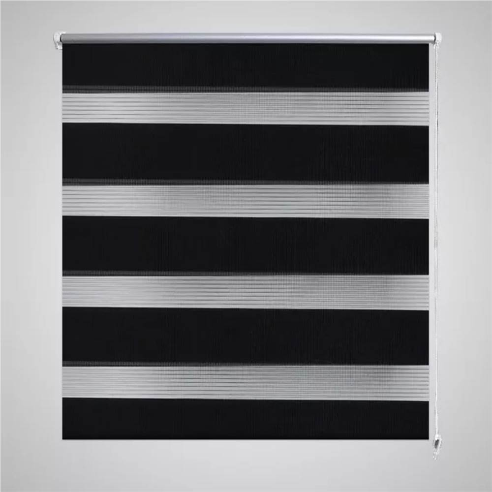 Zebra Blind 40 x 100 cm Black