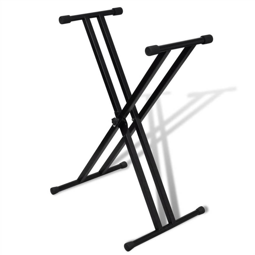 Ρυθμιζόμενη βάση στήριξης πληκτρολογίου με διπλό στήριγμα X-Frame