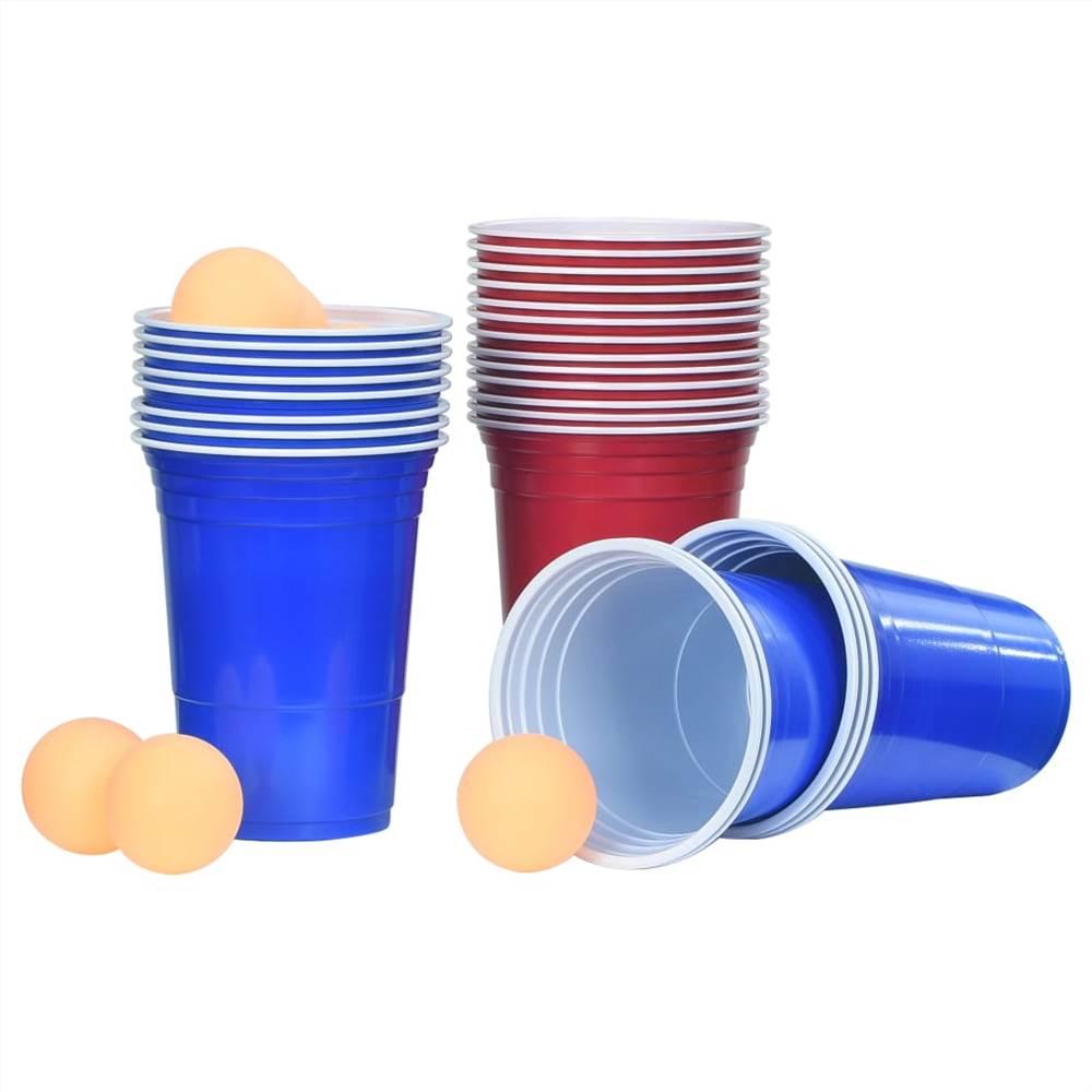 Набор для пивного понга 0,5 л пластик