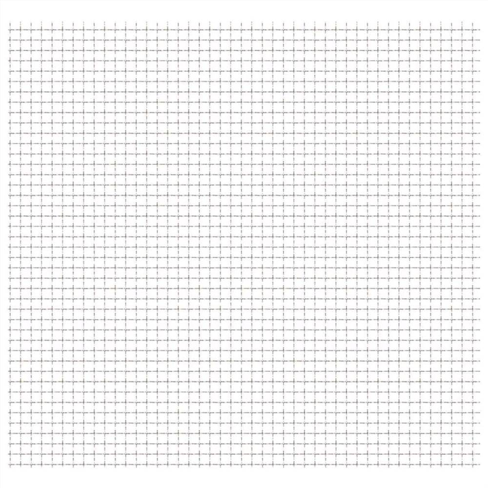 Crimped Garden Wire Fence Stainless Steel 50x50 cm 31x31x3 mm