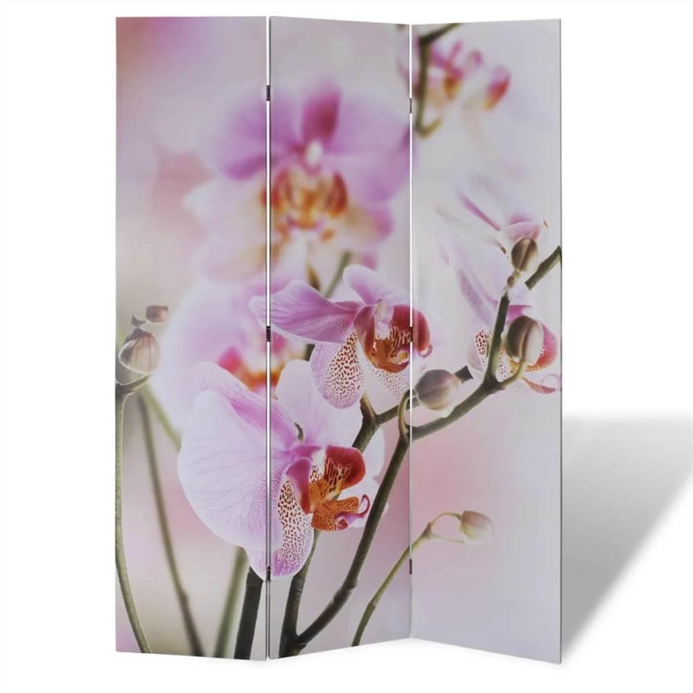 Folding Room Divider 120x170 cm Flower