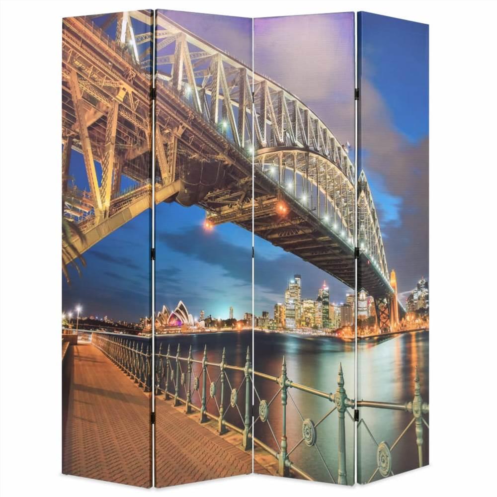 Cloison pliante 160x170 cm Sydney Harbour Bridge