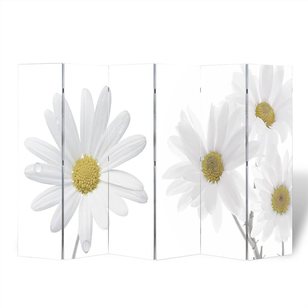 Cloison pliante 240x170 cm Fleur
