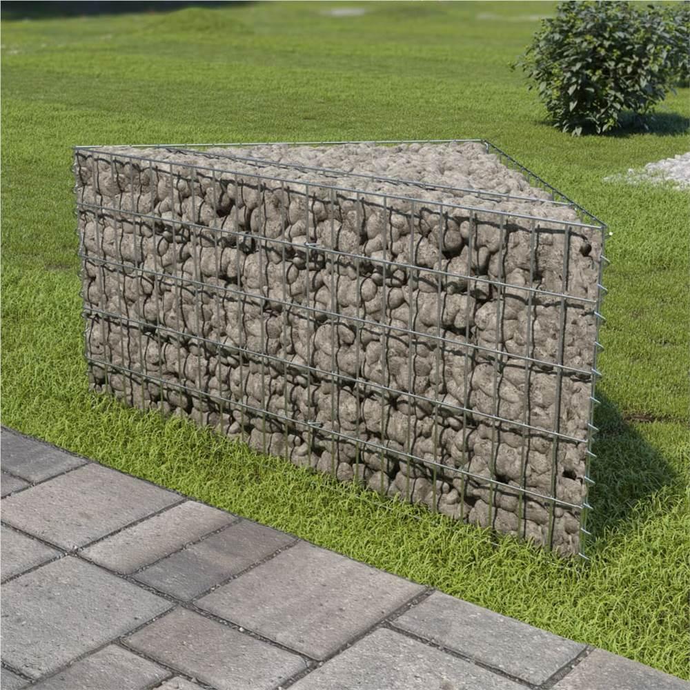 蛇籠上げ床亜鉛メッキ鋼75x75x50cm