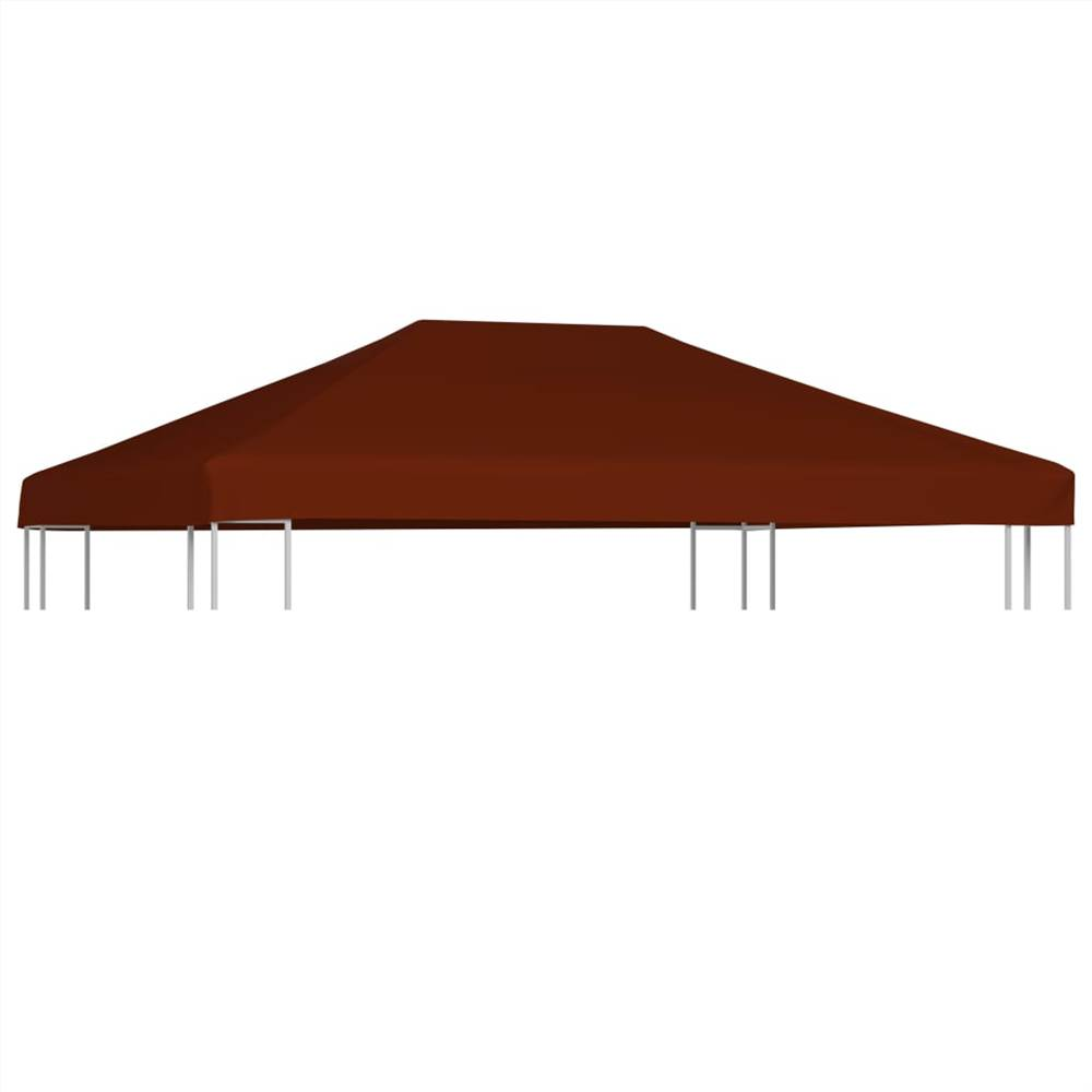 Gazebo Top Cover 310 g/m² 3x4 m Terracota