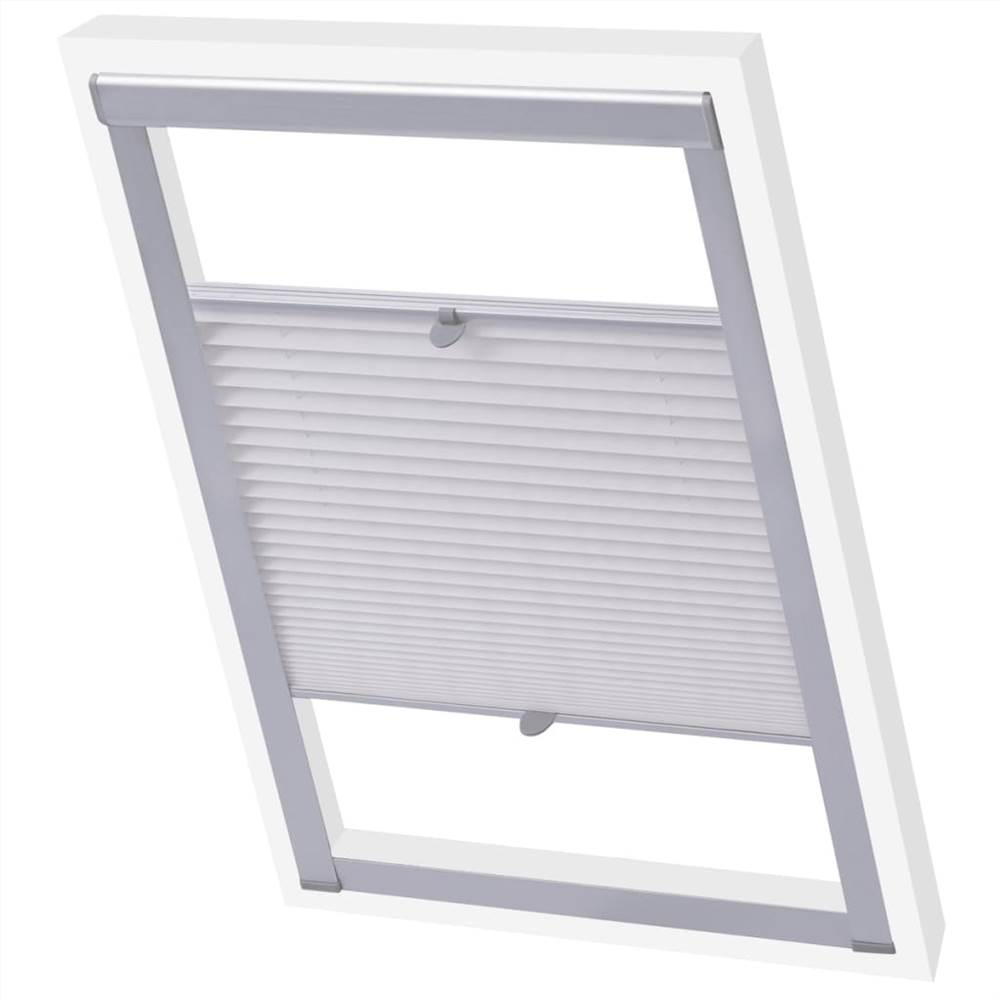 Pleated Blinds White 206