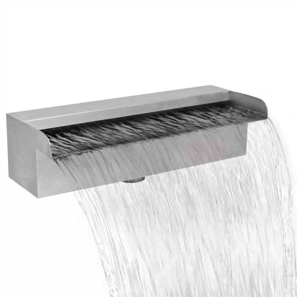 長方形の滝のプールの噴水ステンレス鋼30cm