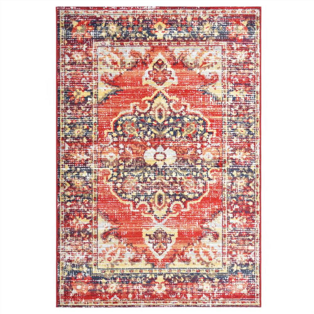 Rug Red 80x150 cm PP