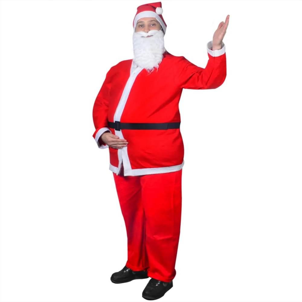 サンタクロースのクリスマスコスチュームスーツセット