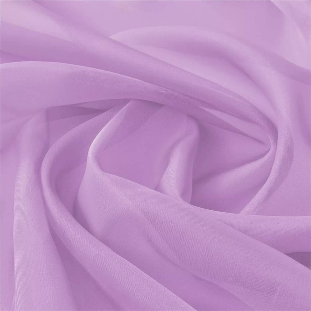 Tissu Voile 1.45x20 m Lilas