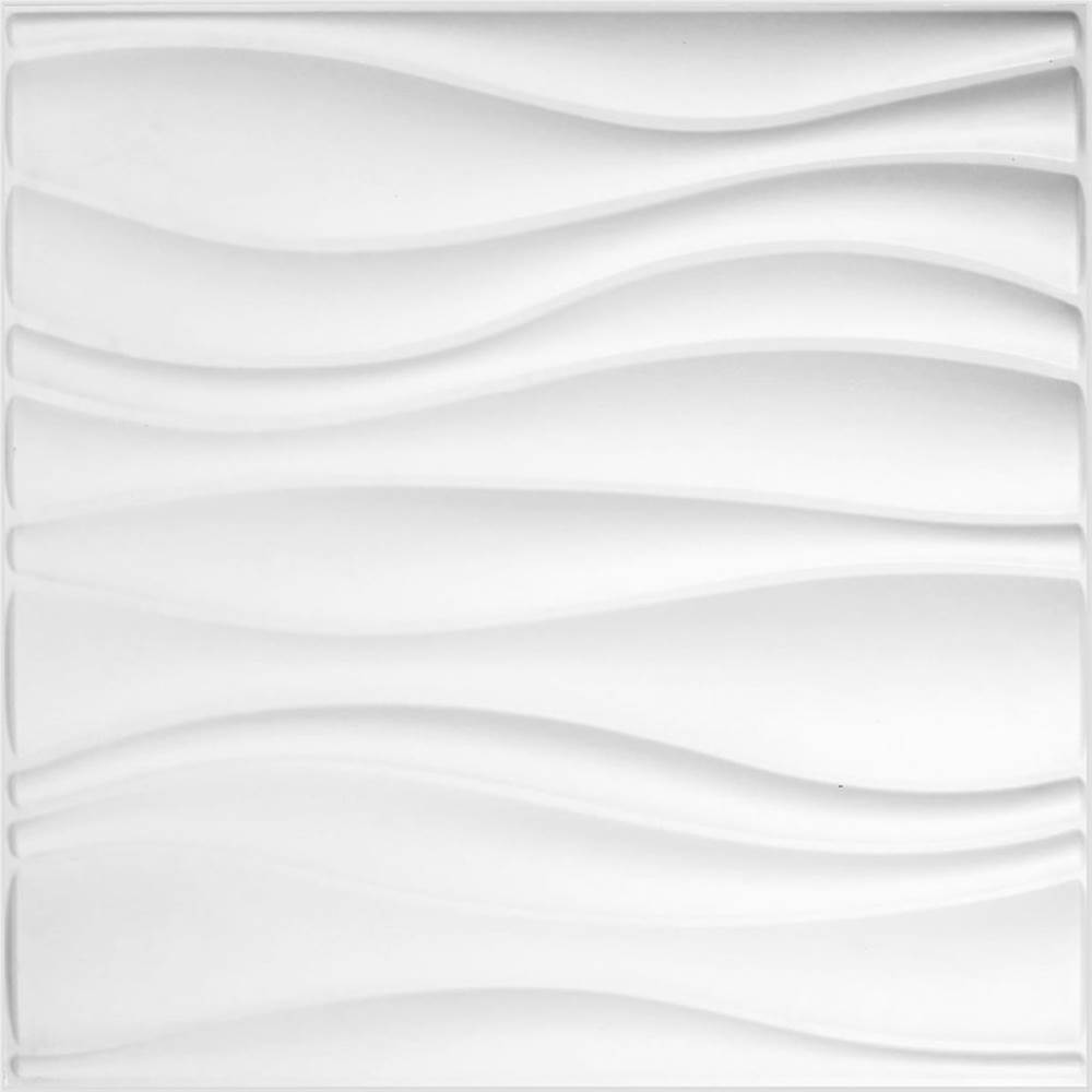 WallArt 3D Wall Panels Waves 12 pcs GA-WA04