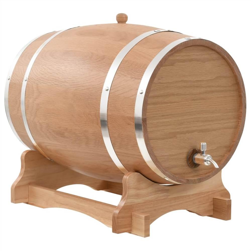 Tonneau à Vin avec Robinet Bois de Chêne Massif 35 L