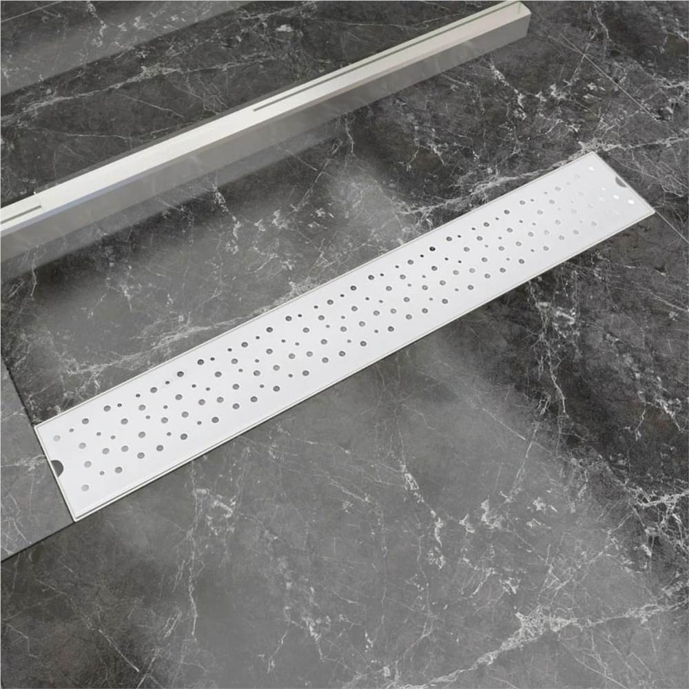 Linear Shower Drain Bubble 730x140 mm Stainless Steel, Other  - buy with discount