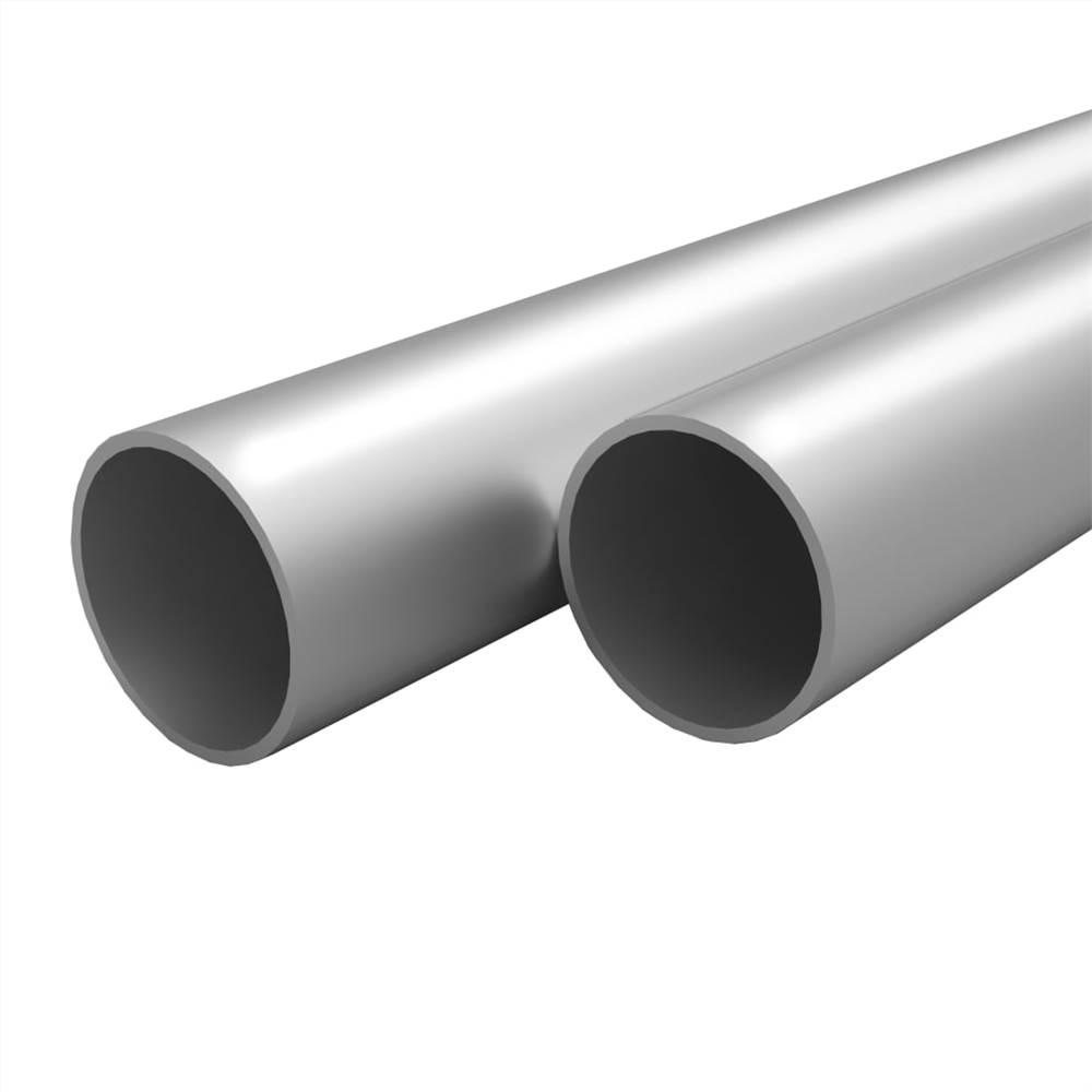 4 Stk. Aluminiumrohre Rund 2m 30x2mm
