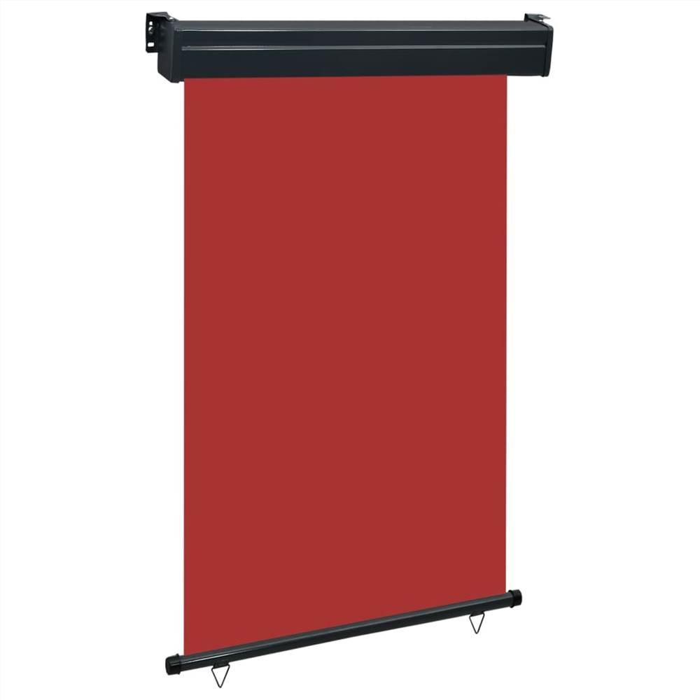 Balkon Seitenmarkise 120x250 cm Rot
