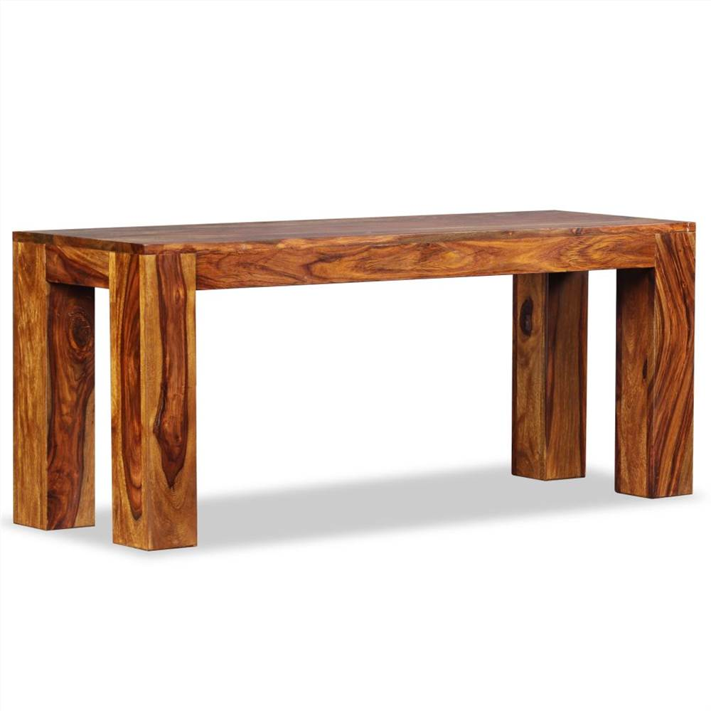 Bench Solid Sheesham Wood 110x35x45 cm, Other  - buy with discount