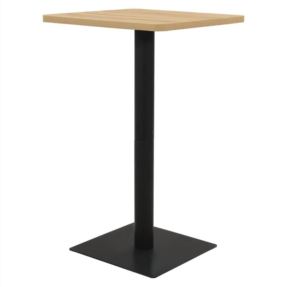 Bistro Table Oak Colour 78.5x78.5x107 cm