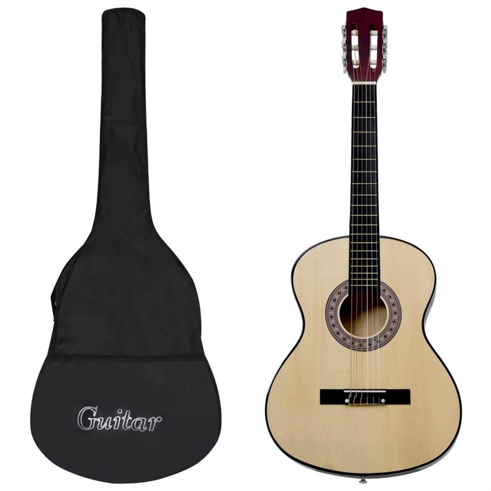 """Guitare classique pour débutant avec sac 4/4 39 """""""