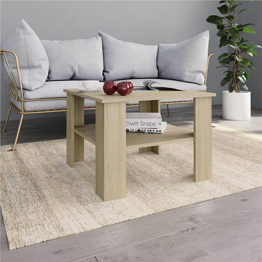 Couchtisch Sonoma Oak 60x60x42 cm Spanplatte