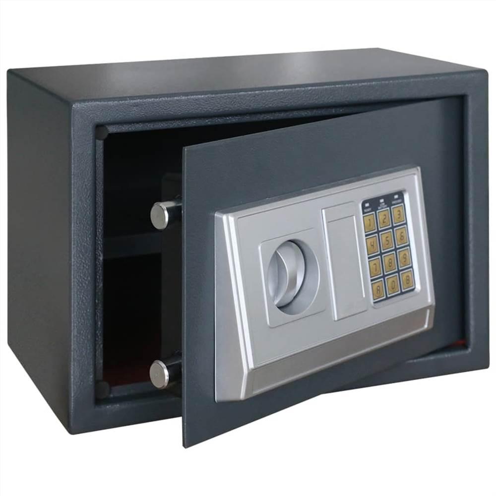 Electronic Digital Safe with Shelf 35x25x25 cm