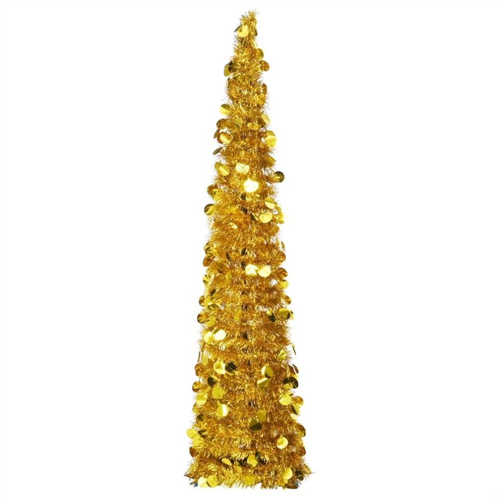 Sapin de Noël Artificiel Pop-up Or 150 cm PET