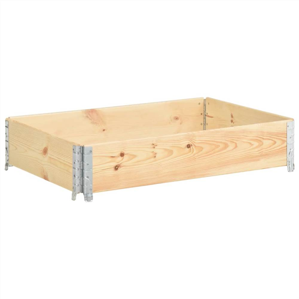 レイズドベッド50x100cm無垢材(310052)