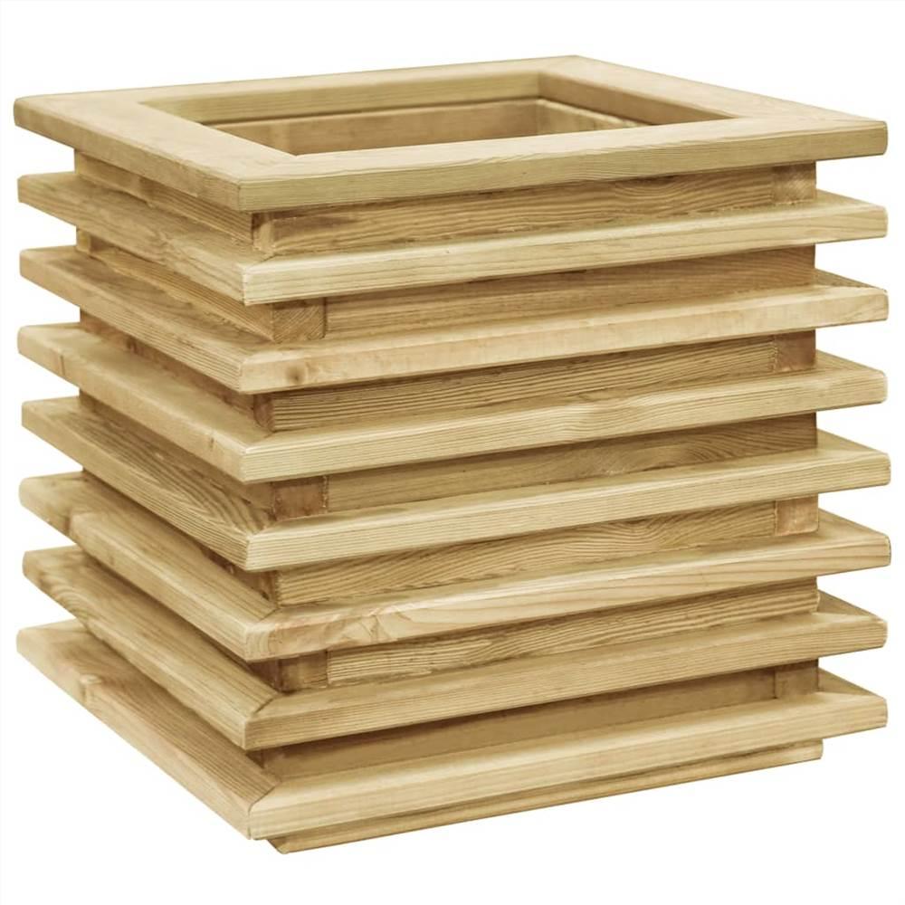 Raised Bed 50x50x40 cm Impregnated Pinewood