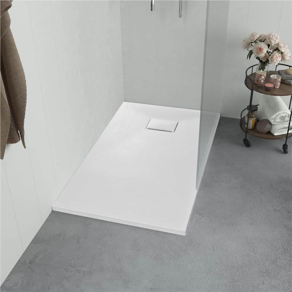Duschwanne SMC Weiß 80x80 cm