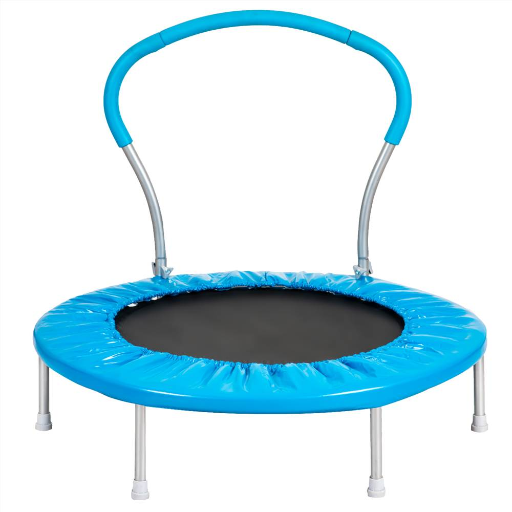 36 INCH TRAMPOLINE WITH HANDLE(BL)