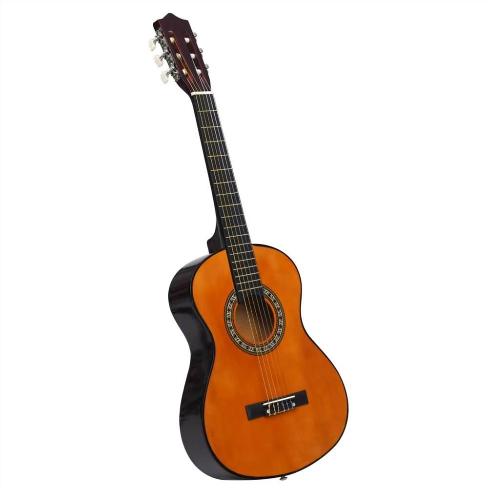 """Klasszikus gitár kezdőknek és gyerekeknek 1/2 34 """"Basswood"""