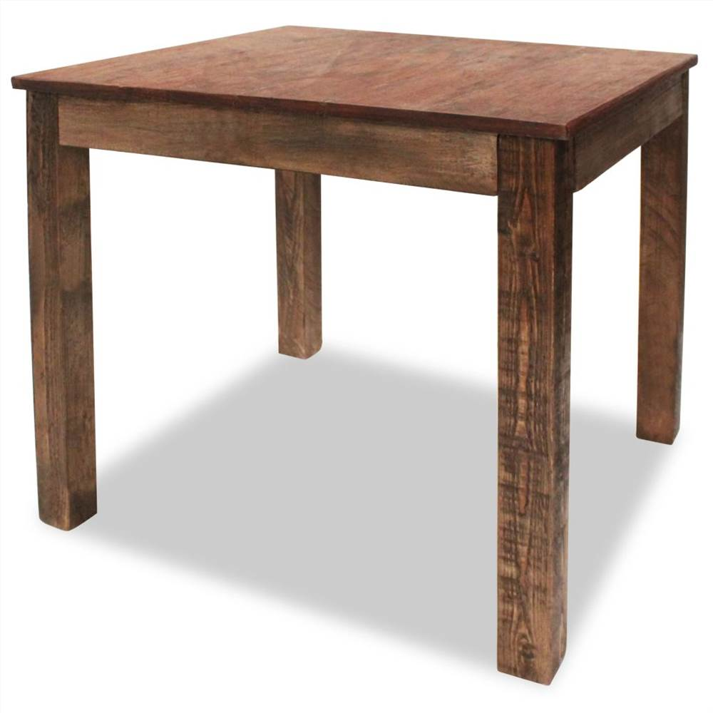 Dining Table Solid Reclaimed Wood 82x80x76 cm
