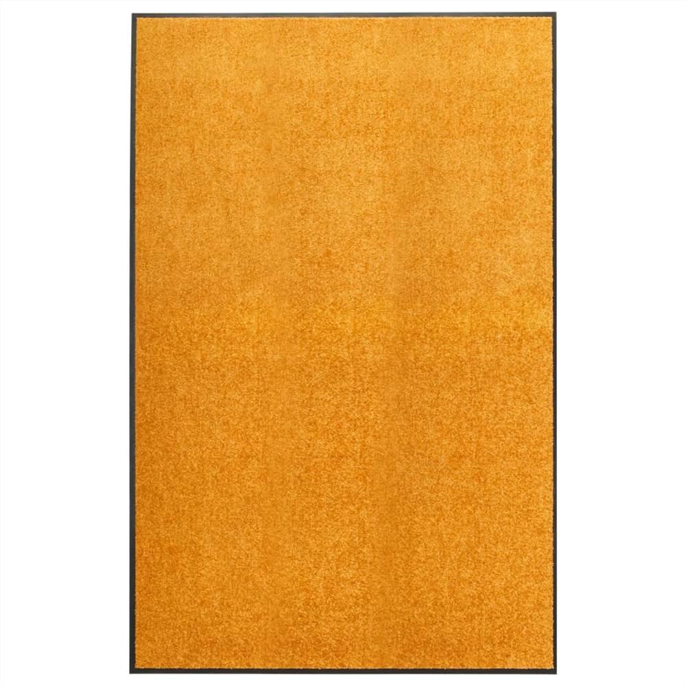 Paillasson Lavable Orange 120x180 cm