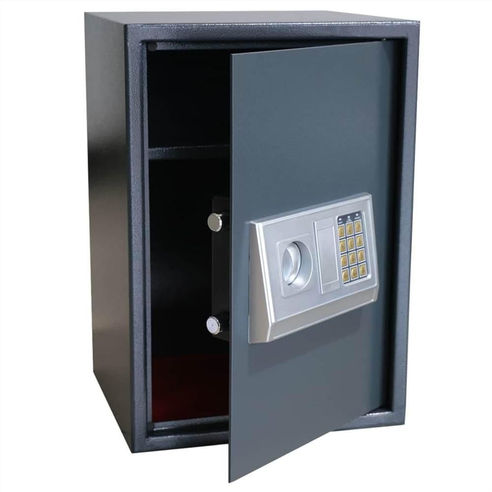 Coffre-fort numérique électronique avec étagère 35x31x50 cm