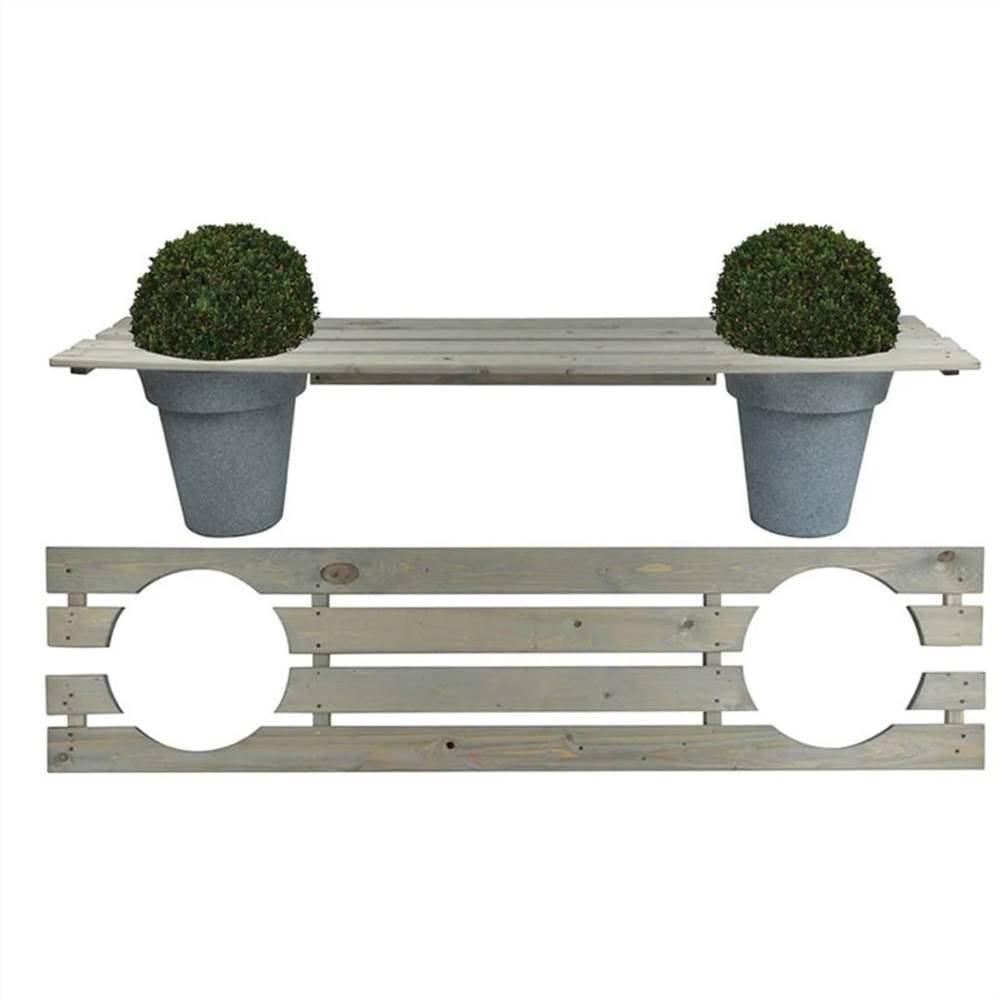 Banc de jardinière Esschert Design 180 cm NG71