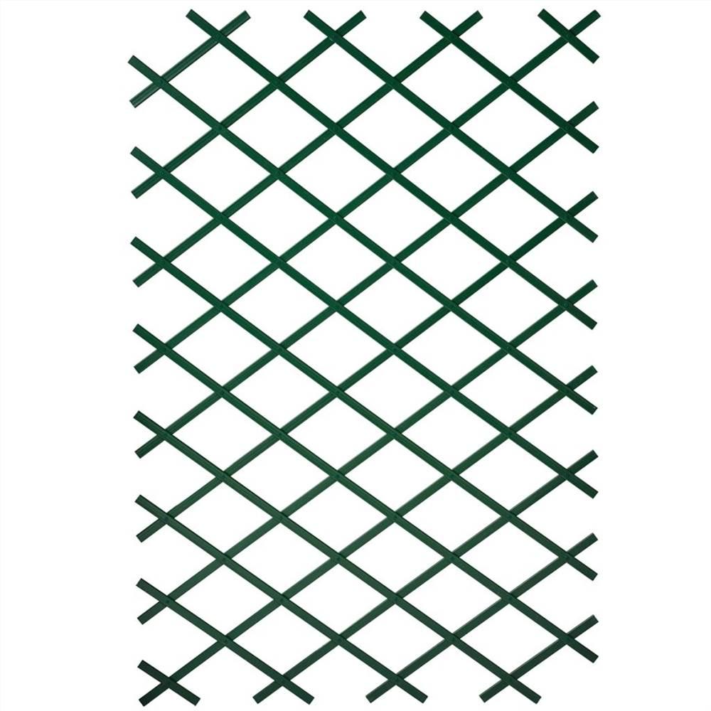 Treillis de jardin Nature 50x150 cm PVC Vert 6040702