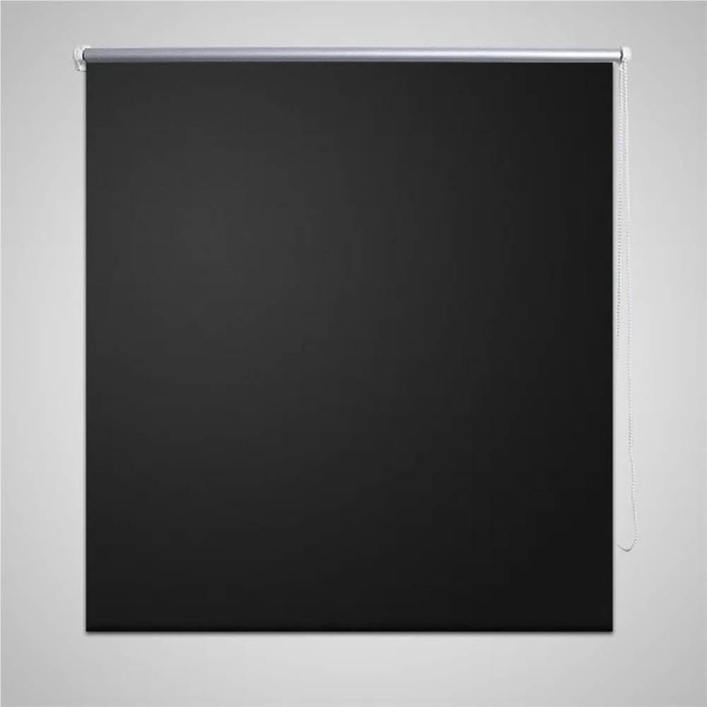 Tenda a rullo oscurante 80 x 175 cm nera
