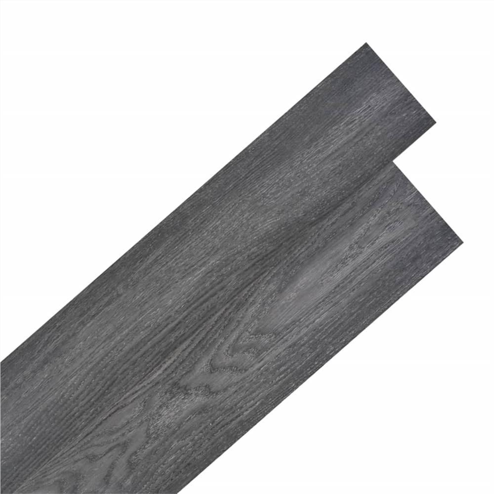 Self-adhesive PVC Flooring Planks 5.02 m² 2 mm Black and White