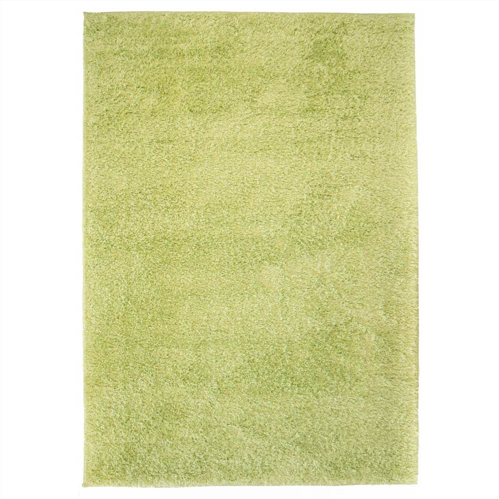 Shaggy Area Rug 80x150 cm Green