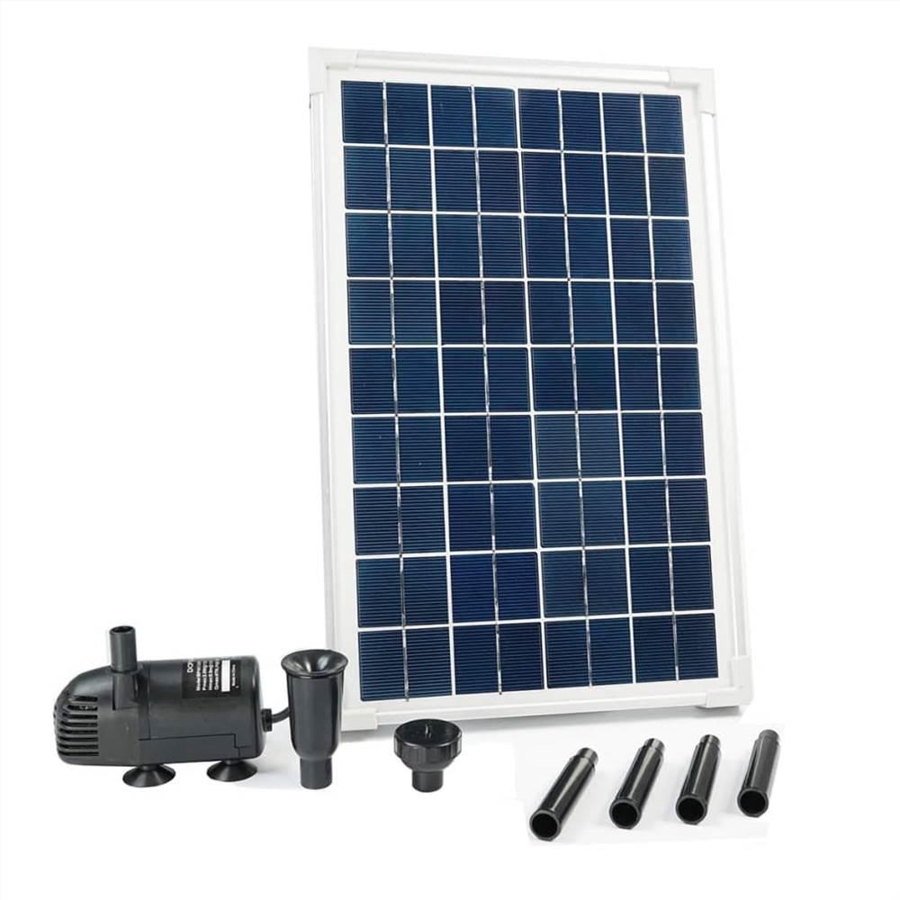 Ubbink SolarMax 600 Set avec panneau solaire et pompe 1351181