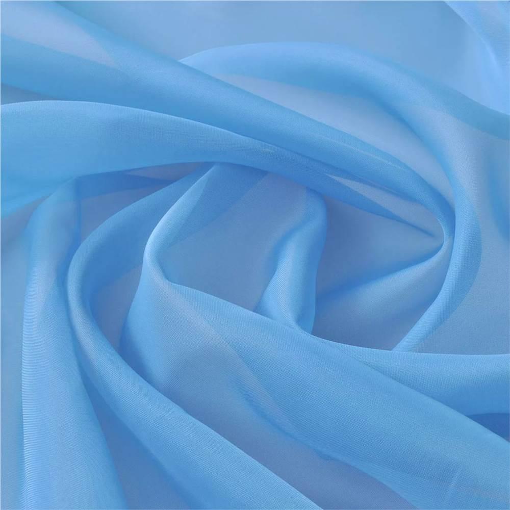 Tissu Voile 1.45 x 20 m Turquoise