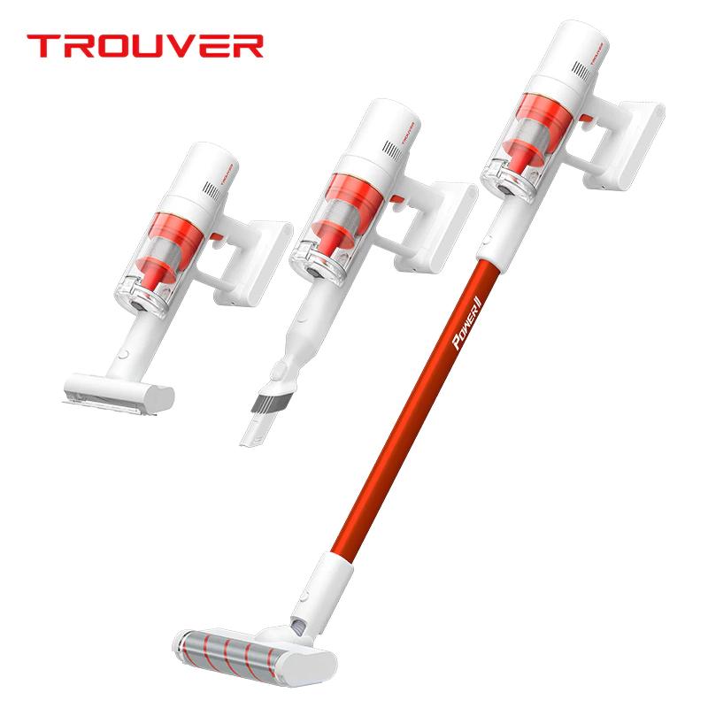 Dreame TROUVER POWER11ハンドヘルドコードレス掃除機400Wモーター120AW20000Pa強力な吸引2500mAhバッテリー60分の実行時間LCDディスプレイ取り外し可能なダストカップ-ホワイト