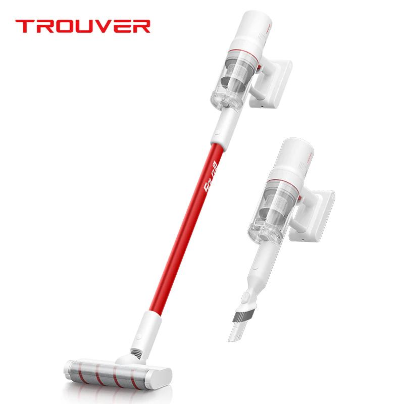 Dreame TROUVER SOLO10ハンドヘルドコードレス掃除機300Wモーター85AW18000Pa強力な吸引2000mAhバッテリー48分の実行時間LCDディスプレイ取り外し可能なダストカップ-ホワイト