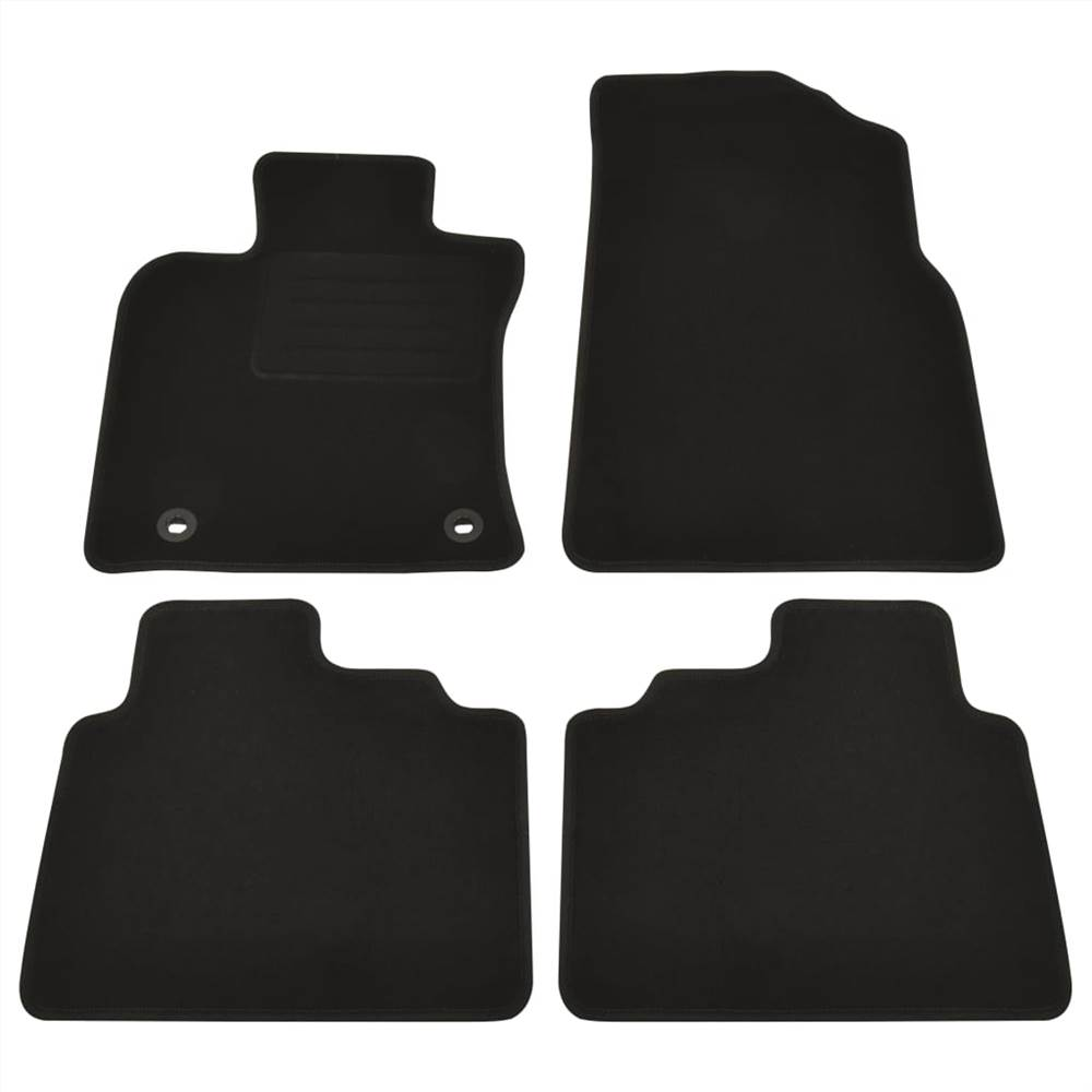 4 Piece Car Mat Set for Toyota Camry Hybride