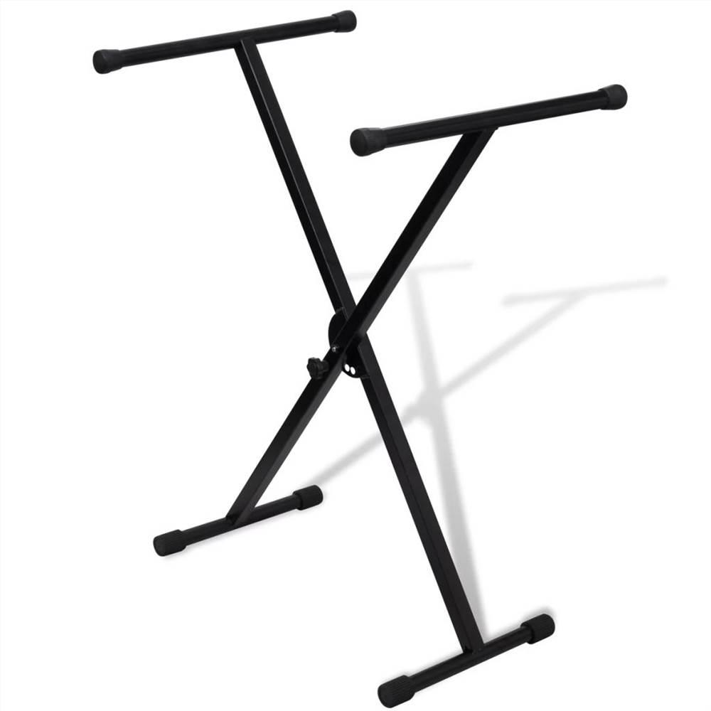 Állítható egymerevítős billentyűzet állvány X-keret