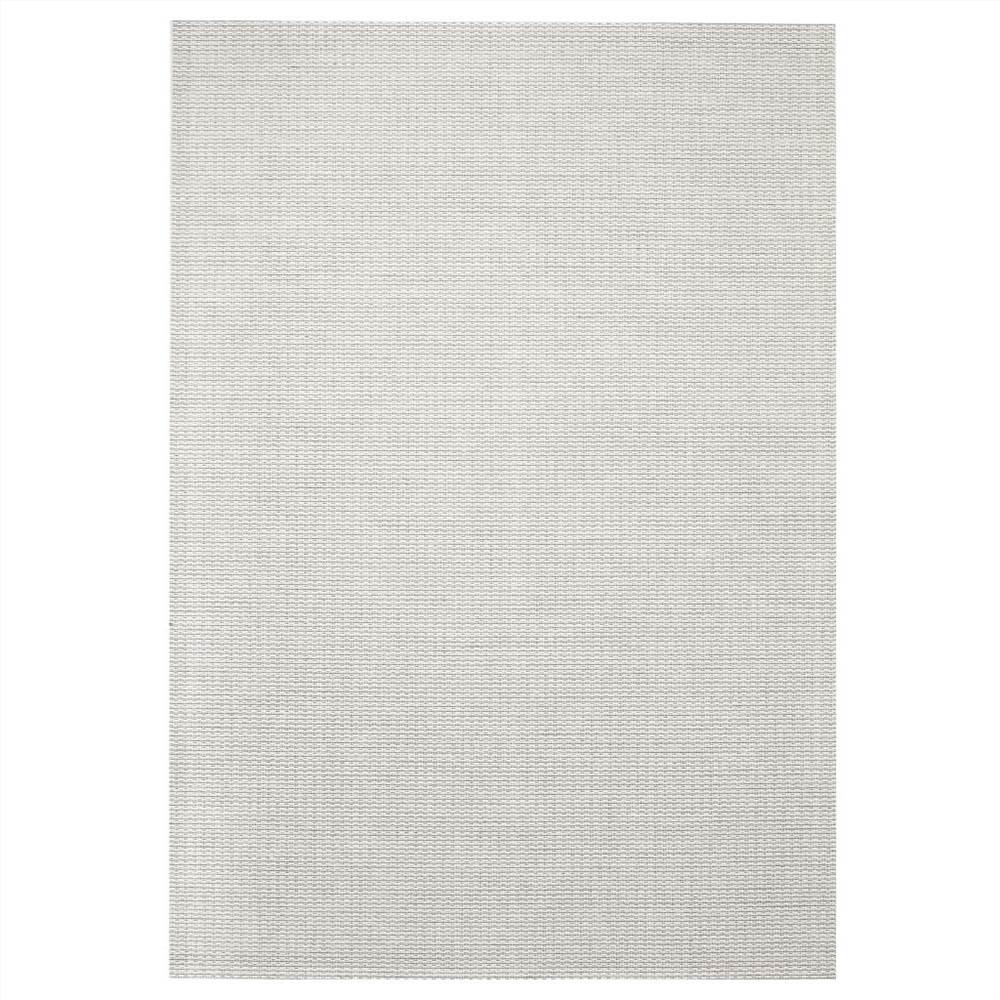 Area Rug Sisal Look Indoor/Outdoor 120x170 cm Grey