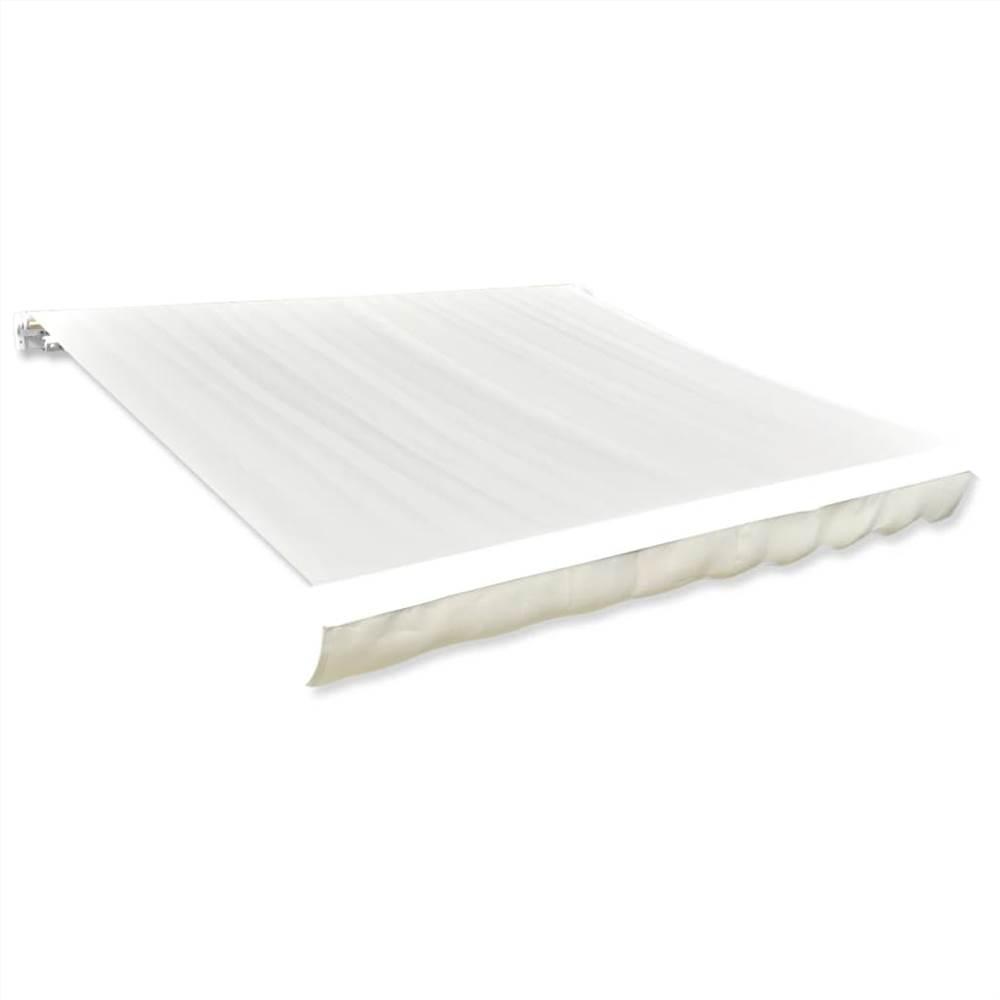 Markisenoberteil Sunshade Canvas Cream 6x3m (Rahmen nicht enthalten)