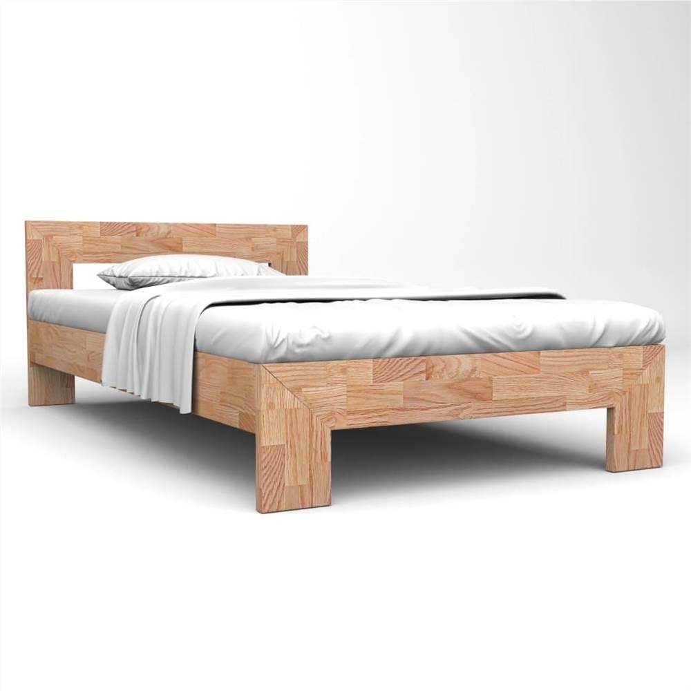 Bettrahmen Massives Eichenholz 160x200 cm